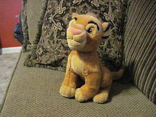 "Beautiful 13"" Disney Store YOUNG SIMBA Plush Lion King  (44)"