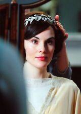 NEW - Leaf Wreath w/ Flowers Silver Rhinestone Tiara - Downton Abbey - Bridal