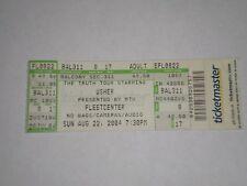Usher Concert Ticket Stub-2004-Confessions Tour-Fleetcenter-Boston,MA