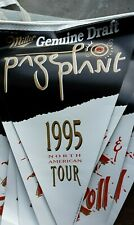 Page & Plant 1995 North America Tour Miller beer pennant