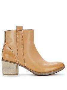 Clarks Movie Fiesta Light Tan Leather ladies ankle boots 3/35.5 D £90