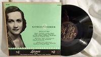 "Kathleen Ferrier 10"" LP Recital of Arias London 9066"