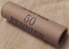 1x 50 Cent Indian Head Penny Cent Roll 50 Cents IHC 1859-1909 Old US Pennies J11