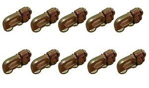 L Track Stud,Double Stud Fitting without Ring -B/S 5000 lbs - 10 Packs