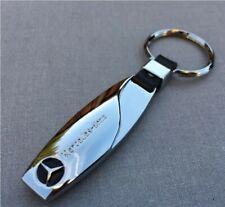 Mercedes-Benz AMG SCHLÜSSELANHÄNGER Anhänger Keychain Leder Neu