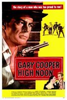 "HIGH NOON Movie Poster [Licensed-New-USA] 27x40"" Theater Size (Gary Cooper) 1952"
