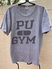 New listing Vintage 80's Champion T Shirt Pu Gym Sz L