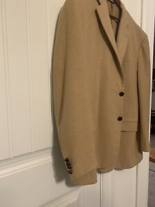 brooks brothers 1818 Camel Sport Coat xxl
