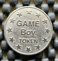 Vintage Nintendo Game Boy Token Retro Arcade Center Coin Rare Collectible Mario