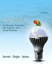 Calculus for Business, Economics, Life Sciences, and Social Sciences (13th Editi