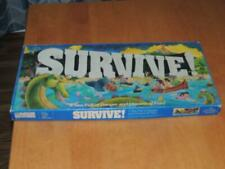RARE 1982 Survive! A Sea Full of Danger Board Game Parker Brothers 100% complete