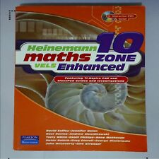 B1 Heinemann Maths Zone VELS Enhanced 10 Pearson - David Coffey DVD Incl