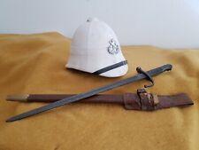 original movie prop legend of tarzan soldier helmet and stab thingy no COA