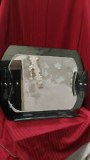 glace de salle de bain en verre fume