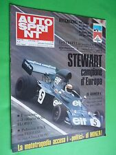 AUTOSPRINT 1973 21 Stewart Targa Florio Lancia Stratos Munari Fiat 2000 rally