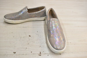 Naturalizer Marianne Slip-On Shoes -  Women's Size 8.5M, Silver Snake NEW
