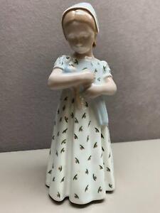 B&G Bing & Grondahl Royal Copenhagen Denmark Figurine Girl Mary With Doll # 1721
