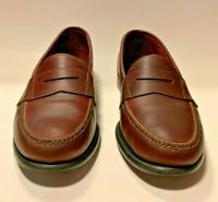 Bostonian Penny Loafer Brown Leather Classic Casual Dress Men's Size 13 D