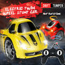 High Speed Rotation Drift Electric Twin Wheel Stunt RC Car Toy +Remote   !!