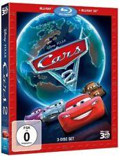 Cars 2 - 3 Disc Set - [3D Blu-ray] NEU/OVP