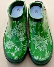 Laura Ashley Gardening/Casual Clogs Kimono Green  Size UK 3 EUR 35/36 FREE P&P