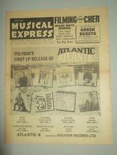 NME #1007 APRIL 29 1966 BEACH BOYS PAUL JONES EDDY ARNOLD NEIL CHRISTIAN CHER
