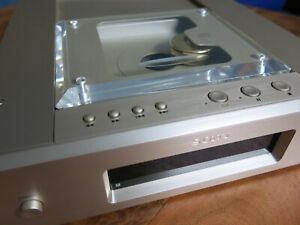 Sony CDP-X5000 High-End CD-Player in Champagner mit  Zubehör