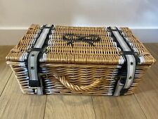 Amazing Rare ANYA HINDMARCH Picnic Basket