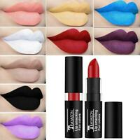 Lip Gloss Makeup Lip Matte Lipstick Long Lasting Waterproof Dark Halloween NIC