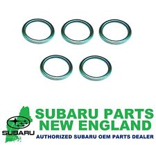 Genuine OEM Subaru Drain Plug Gasket Crush Washer (5-Pack) 803916010 x5