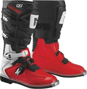 Gaerne GX-J Youth Boots (3, Black/Red)