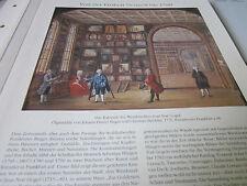 Frankfurt Archiv  F2 bis 1789 2076 Kabinett Weinhändler Jean Noe Gogel 1776