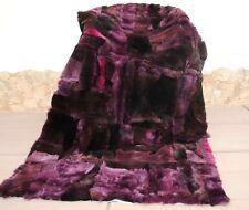 Pelzdecke REX , Felldecke, Tagesdecke,  Blanket fur /bedspread