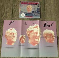 GLASS ANIMALS SIGNED AUTOGRAPH DREAMLAND CD BOOKLET COVER & BRAND NEW SEALED CD
