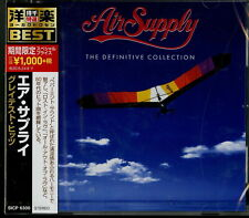 AIR SUPPLY-THE DEFINITIVE COLLECTION-JAPAN CD Ltd/Ed B63