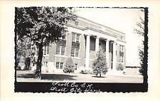 Kansas Ks Postcard Real Photo RPPC c1950 SCOTT CITY Scott County Court House