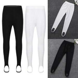 Kids Girl Gymnastics Ballet Dance Leotard Tights Pantyhose Long Stockings Tights