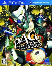 USED PS Vita Persona 4 P4: The Golden Japan Import game soft