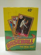 1987 Topps Baseball Unopened Wax Box 36 packs Per Box Bo Jackson Rookie