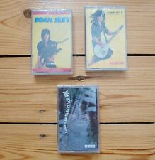 JOAN JETT 3 sealed cassette tapes, Bad Reputation, Album, Notorious, Runaways