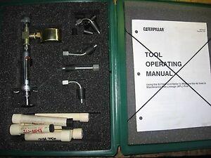 Caterpillar 9U7960 Void Meter Group Tool for Testing Air in MFL Linkage Pins CAT