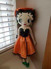 "1999 Witch Costume Betty Boop Halloween Plush Doll Kellytoy 18"""
