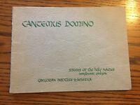 1949 Cantemus Domino Vocal Copy Gregorian Institute Of America - SNJM - Vintage