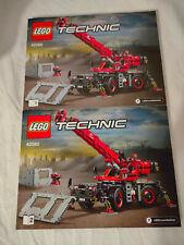 Lego Bauanleitung BA 42082 Technic Geländegängiger Kranwagen Heft 1 +2 NEU