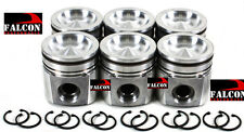 Fits Cummins VIN-C 5.9L ETH Turbo Diesel Mahle/NPR Piston Set/6 2004.5-2008 STD