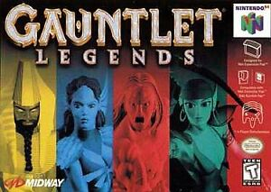 Gauntlet Legends (N64, 1999) Brand New Factory Sealed...