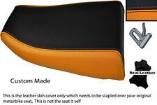 ORANGE & BLACK CUSTOM FITS KAWASAKI NINJA ZX6R 600 95-97 REAR SEAT COVER