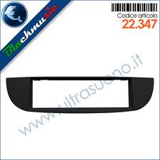 Mascherina supporto autoradio ISO Fiat 500 (dal 2007) colore nero