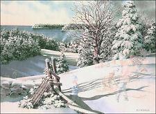 Charles L. Peterson - Sledding Hill - Encore Edition - Signed & No. TBD/2000