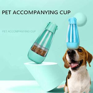 3 in 1 Pet Dog Cat Water Bottle Poop Shovel Outdoor Travel Pet Bowl FeederC_AP